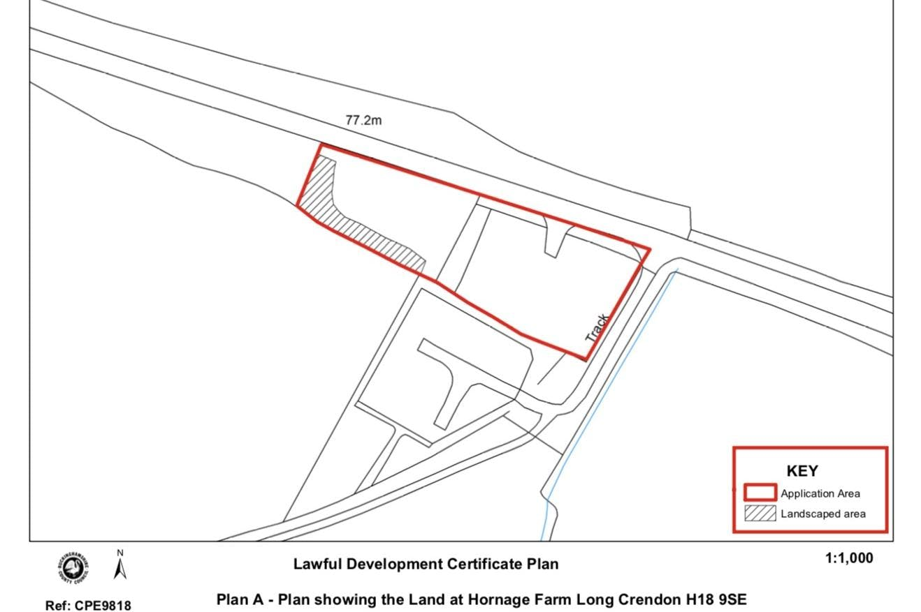 Recycling Site Hornage Farm, Long Crendon Road, Long Crendon, Industrial / Land To Let - SITE PLAN.jpg