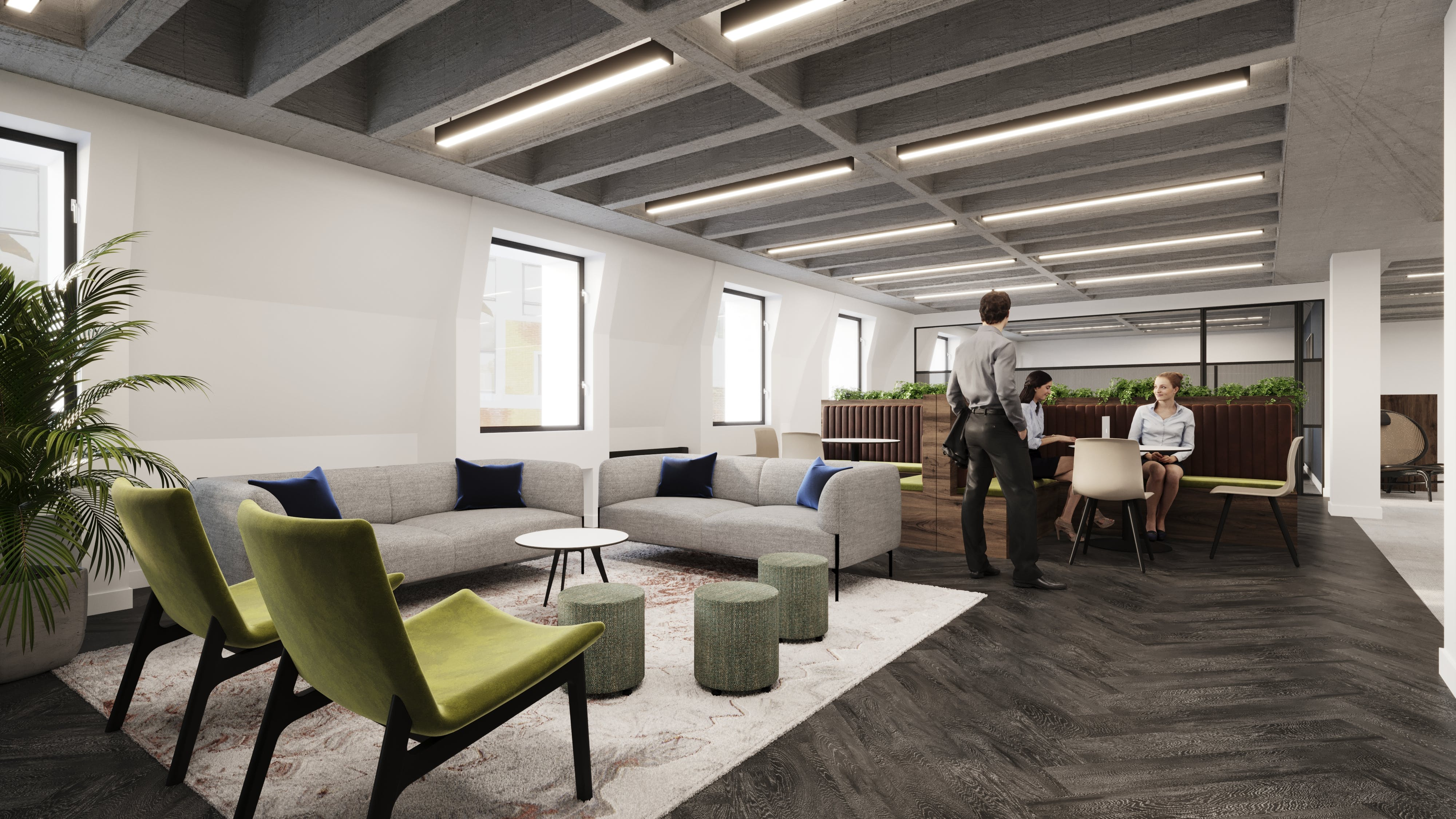 51-53 Great Marlborough Street, London, Offices To Let - GMS_Reception.jpg