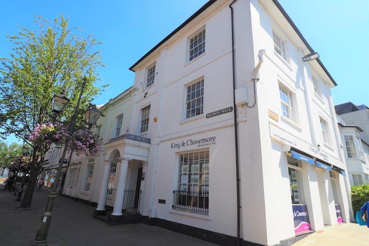 Ground Floor, Richmond House, Horsham, Retail To Let - front.JPG