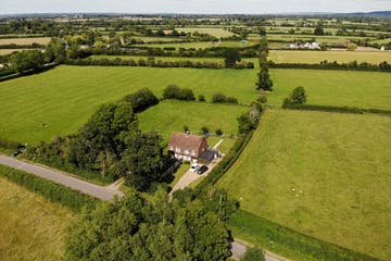 Development opportunity, Roundhill Cottages Kimblewick Road, Little Kimble, Land For Sale - AERIAL 3.JPG