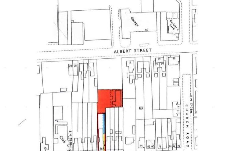 Vernon Yard, Fleet, Offices For Sale - Site Plan