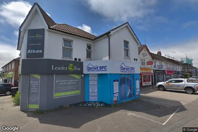 327 Wallisdown Road, Poole, Office, Retail & Leisure To Let - Image from Google Street View - 268