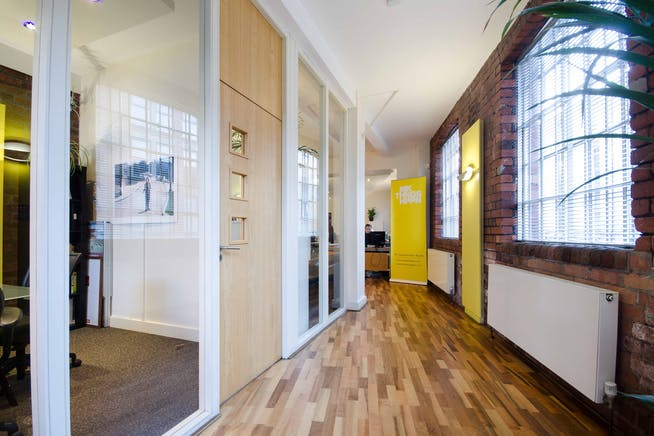 Brooklyn Works, Sheffield, Offices To Let - internal - corridor