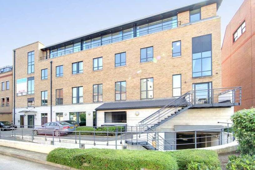 Charta House, Church Street, Staines-Upon-Thames, Office To Let - Charta House side elevation.jpg