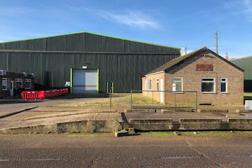 Unit 2a, Lancaster Business Park, Spilsby, Industrial For Sale - East Kirkby 2a Front Office and weighbridge.jpg