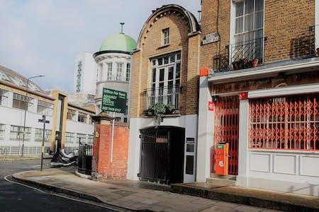 Studio 10 Tiger House, Burton Street, London, Office To Let - tigerhousefrontright perspective.jpg