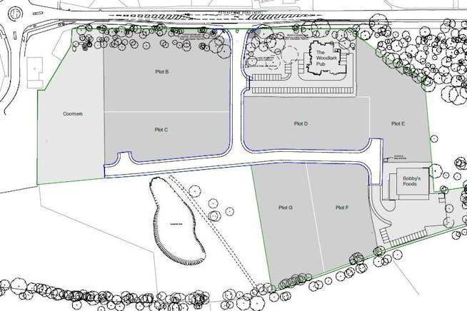 Viking Park, Petersfield Road, Bordon, Open Storage Land / Development (Land & Buildings) For Sale - Plan for brochure.JPG