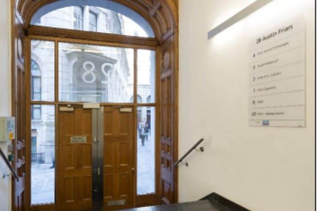 28 Austin Friars, London, Office To Let - entry.PNG