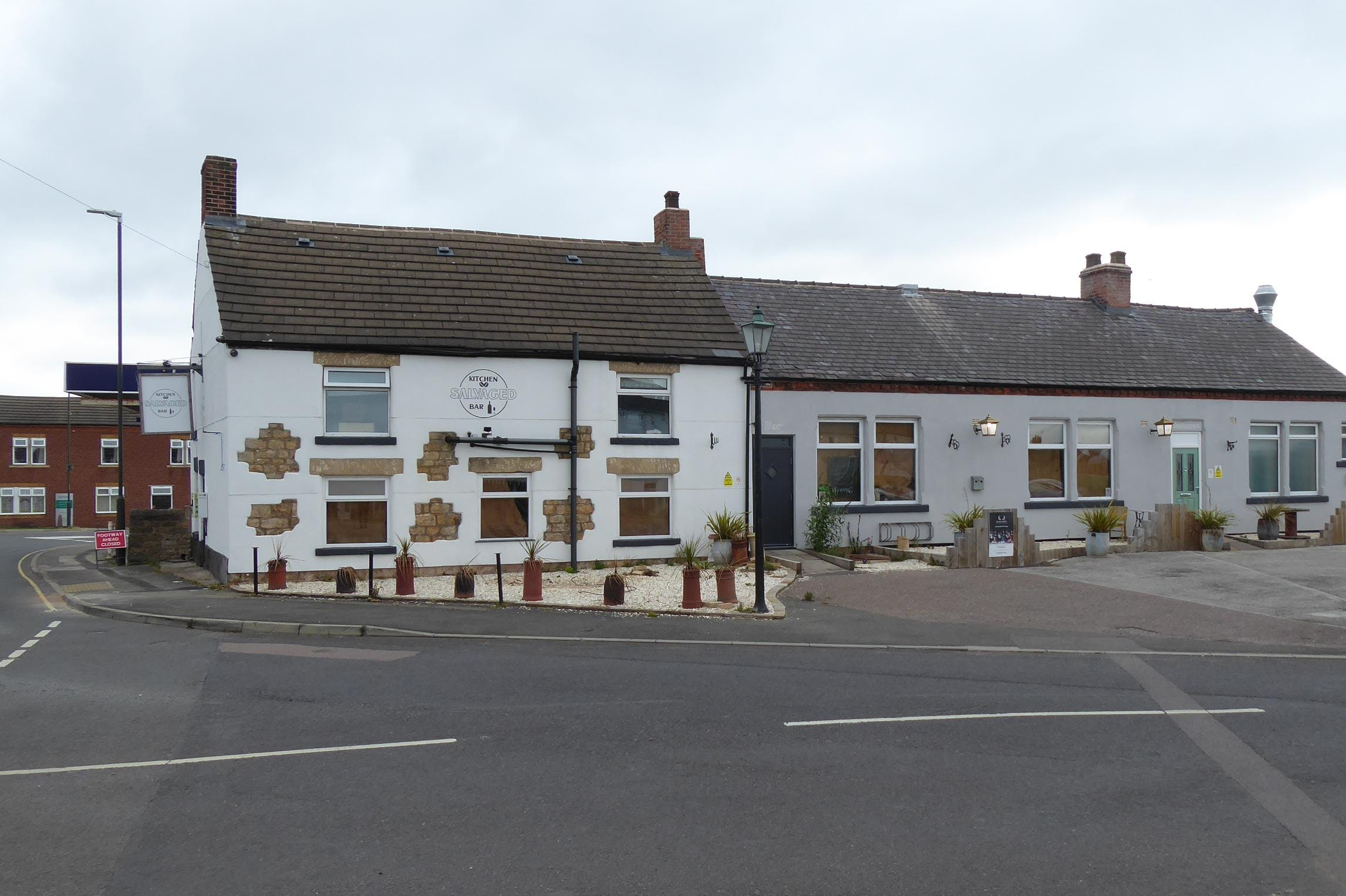 Salvaged Kitchen & Bar/former Crown Inn, Clowne, Restaurant / Development (Land & Buildings) For Sale - P1030798.JPG