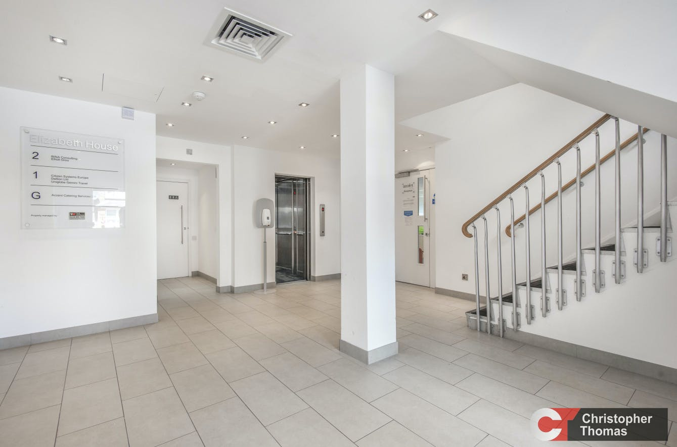 Elizabeth House, Staines Upon Thames, Office To Let - Stairwell.jpg