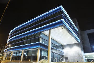 Electric Works, 3 Concourse Way, Sheffield, Offices To Let - Electric Works External Night 2.jpg