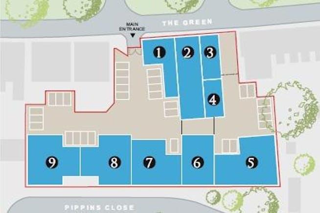 3 Britannia Court, The Green, West Drayton, Development / Residential / Office For Sale - Britannia Court West Drayton estate plan.jpg