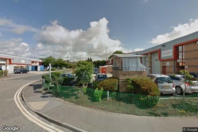 Fairwood Industrial Estate, Leacon Road, Ashford, Warehouse / Industrial To Let - Image from Google Street View - 228