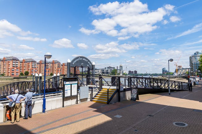 Plantation Wharf, York Place, London, Offices To Let - Plantation Wharf Pier