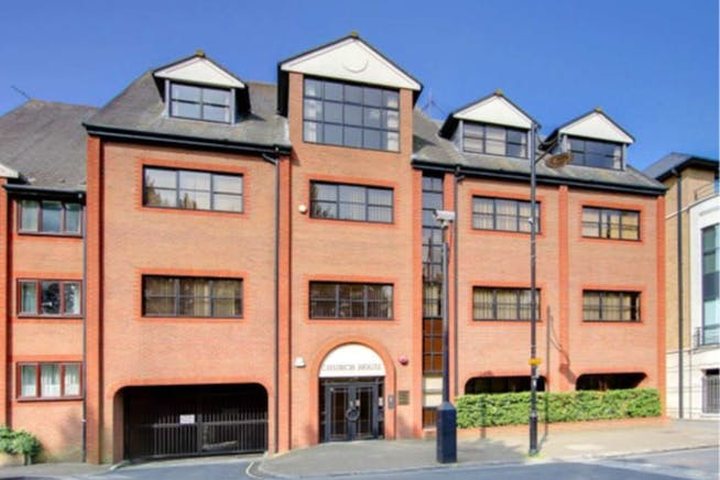 Church House, Staines-upon-Thames, Office To Let - Church House Staines front elevation.jpg