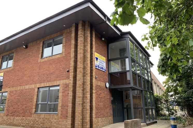12 Acorn Business Park, Portsmouth, Office To Let - Side Front External.jpg