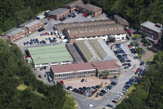 Lansbury Business Estate, 102 Lower Guildford Road, Knaphill, Woking, Office To Let - LBE-aerial_5061-1920.jpg