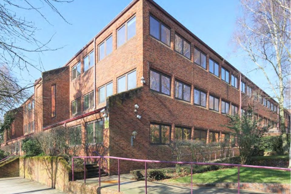 Bayer House, Strawberry Hill, Newbury, Development Potential / Investment For Sale - Bayer House Exterior 2.jpg