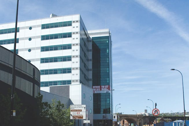 Saville House, Sheffield, Offices To Let - Saville House Exterior 1.JPEG