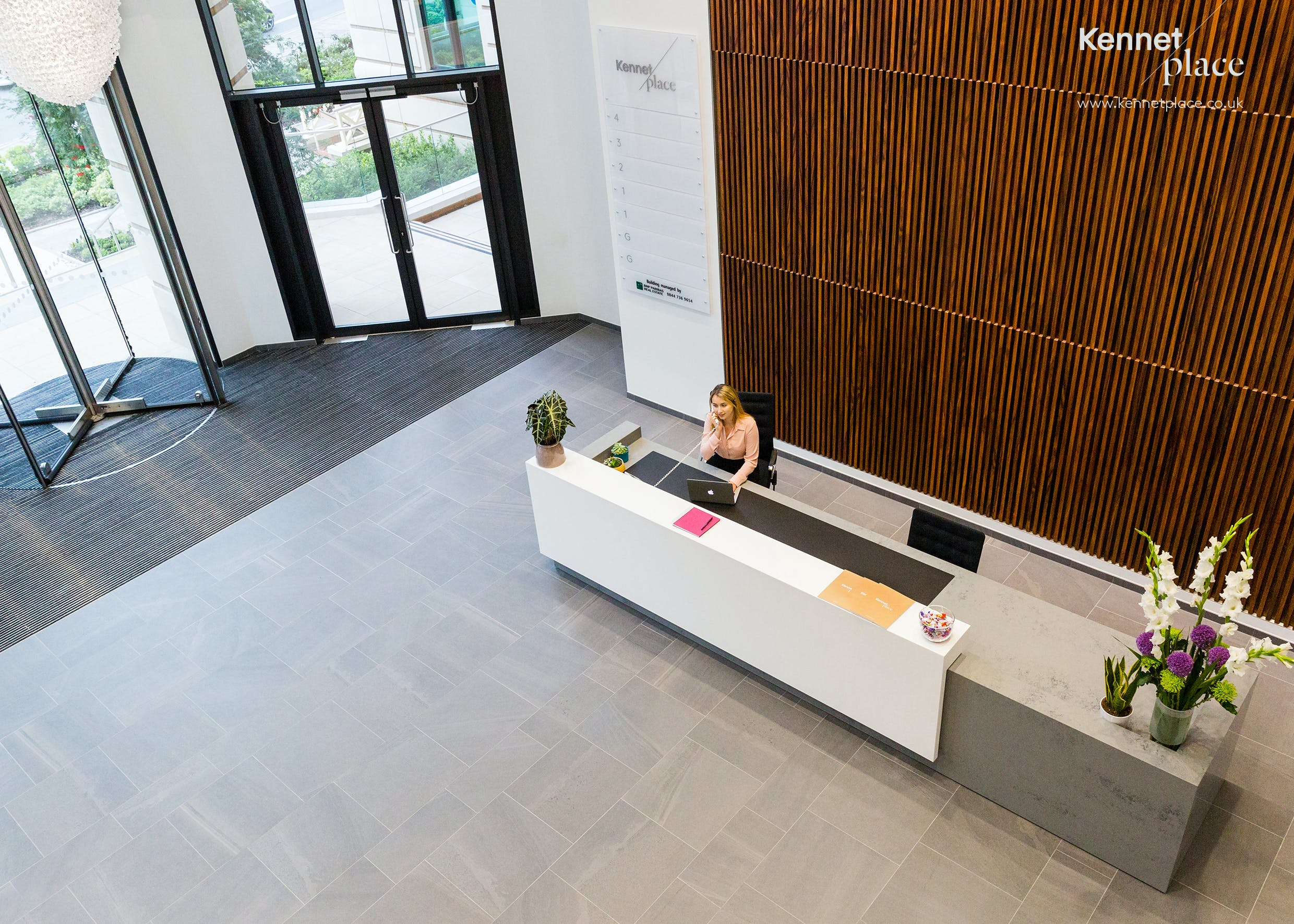 Kennet Place, 121 Kings Road, Reading, Offices To Let - KP_Lobby.jpg
