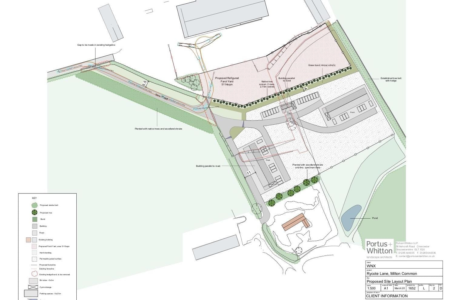 Industrial Development, Rycote Lane Farm, Milton Common, Office / Industrial To Let - SITE PLAN.jpg