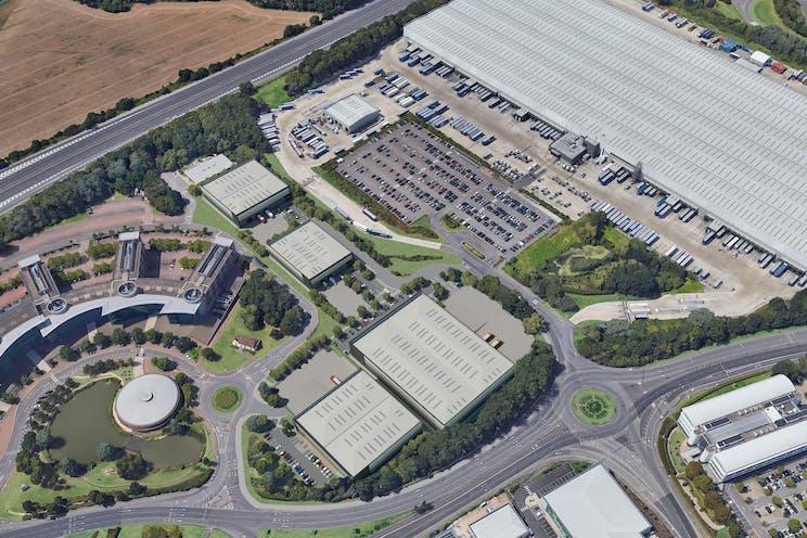 Unit 4, Reading International Logistics Park, Reading, Industrial To Let - Reading International Aerial 1 20-11-19.jpg