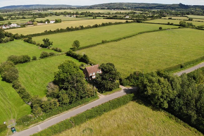 Building Plots, Roundhill Cottages Kimblewick Road, Little Kimble, Residential For Sale - AERIAL 2.JPG