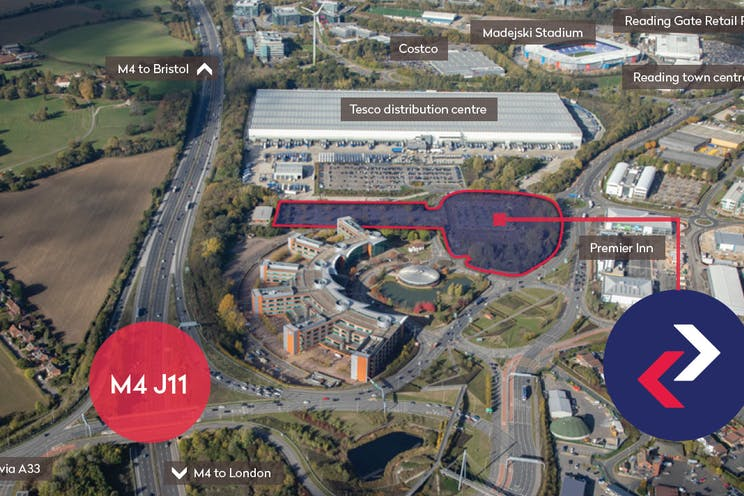 Unit 1, Reading International Logistics Park, Reading, Industrial To Let - Aerial Image.jpg