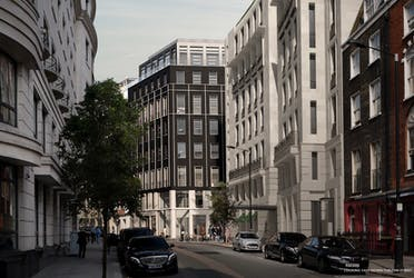 61 Curzon Street, London, Office To Let - Street view CGI - More details and enquiries about this property