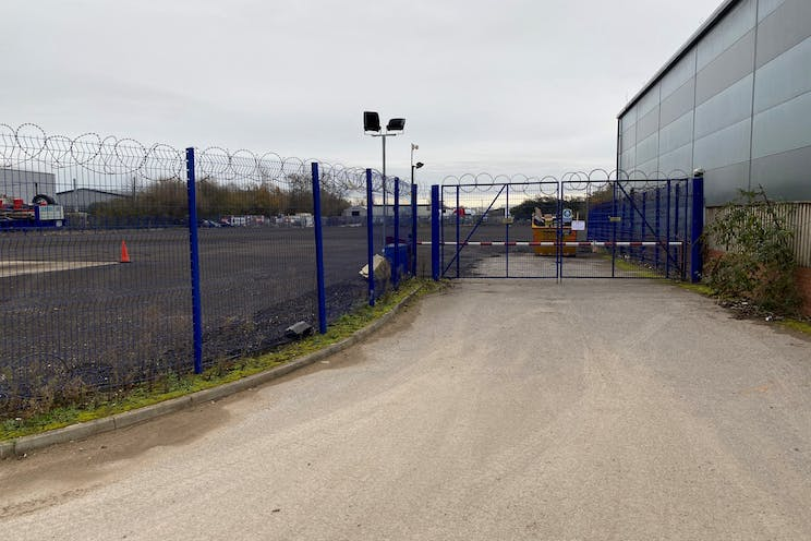 Secure Yard At Colthrop Lane, Thatcham, Open Storage To Let / For Sale - Photo 1  Access.jpg