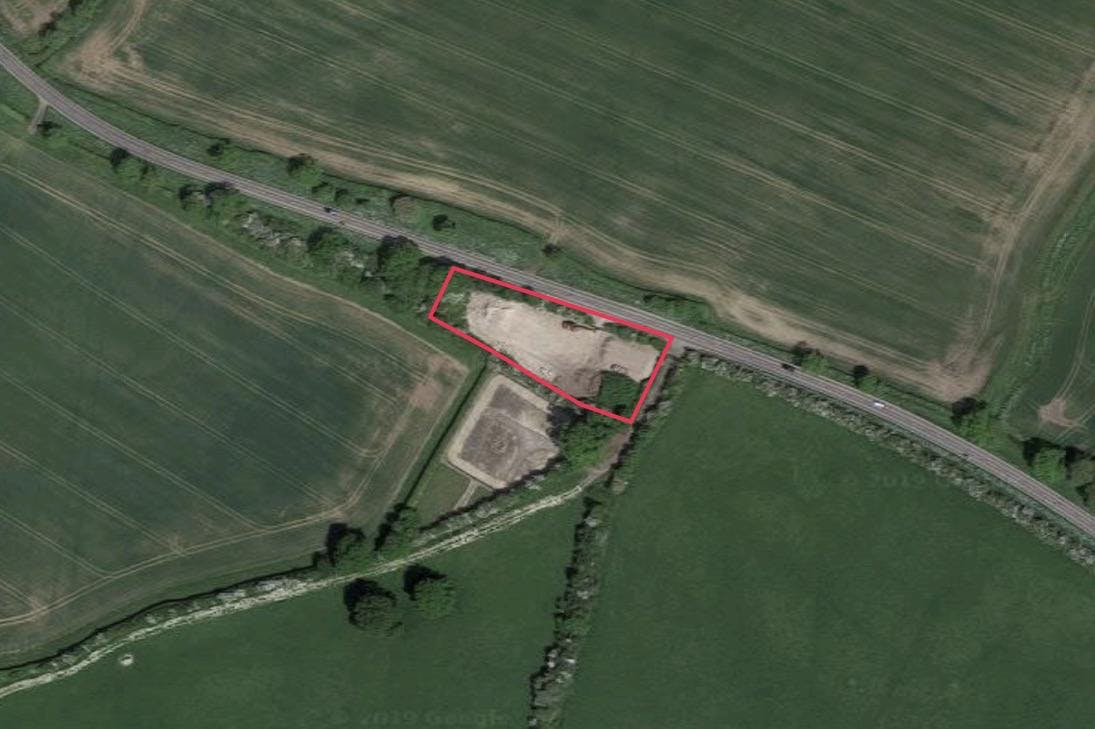 Recycling Site Hornage Farm, Long Crendon Road, Long Crendon, Industrial / Land To Let - SITE PLAN 2.jpg