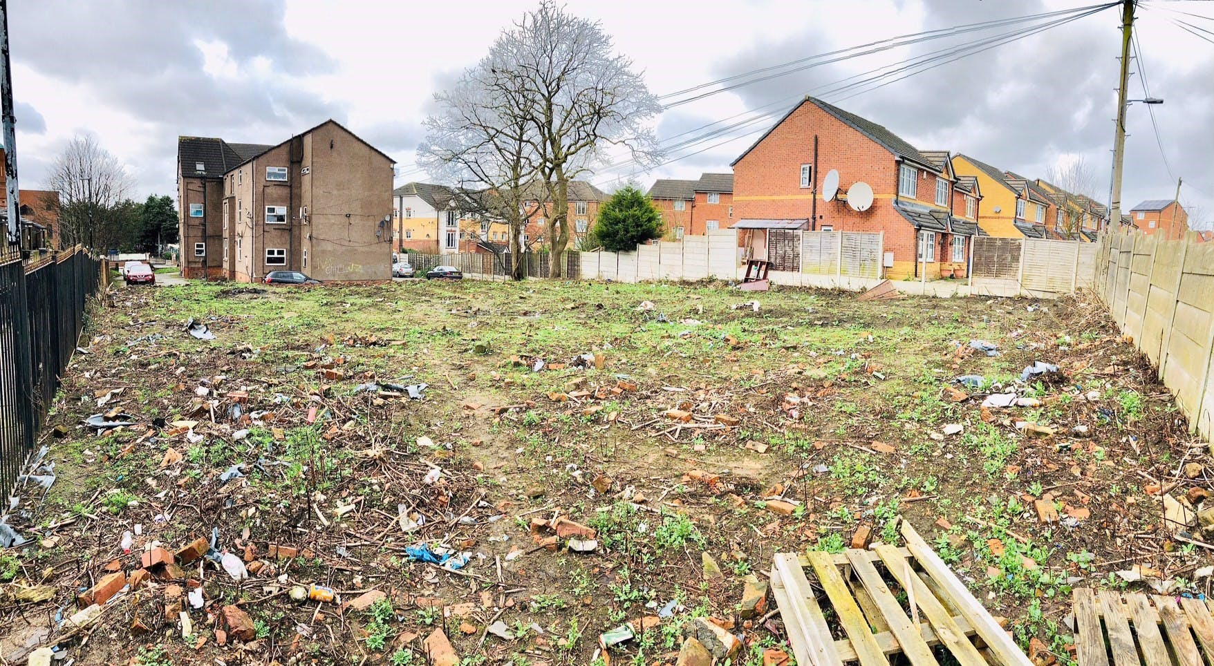Land To The Rear Of, 322 Cheetham Hill Road, Manchester, Greater Manchester