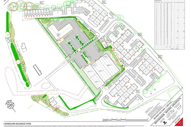 Lambourn Business Park, Lambourn Woodlands, Lambourn, Industrial / Offices To Let - Lambourn Business Park Indicative Layout.jpg