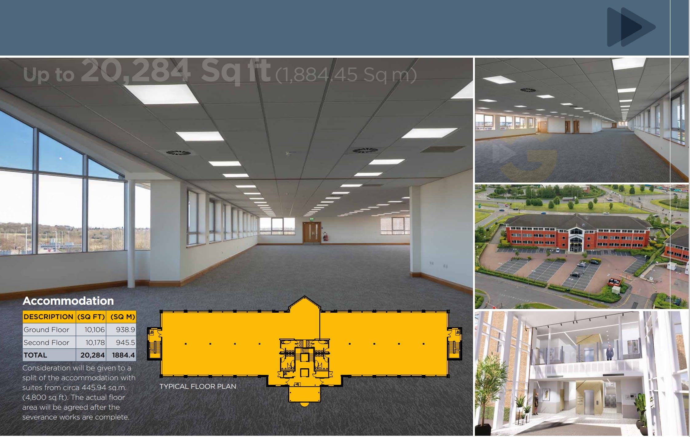 Gateway House, 4 Penman Way House, Leicester, Office To Let - Internal shot.PNG