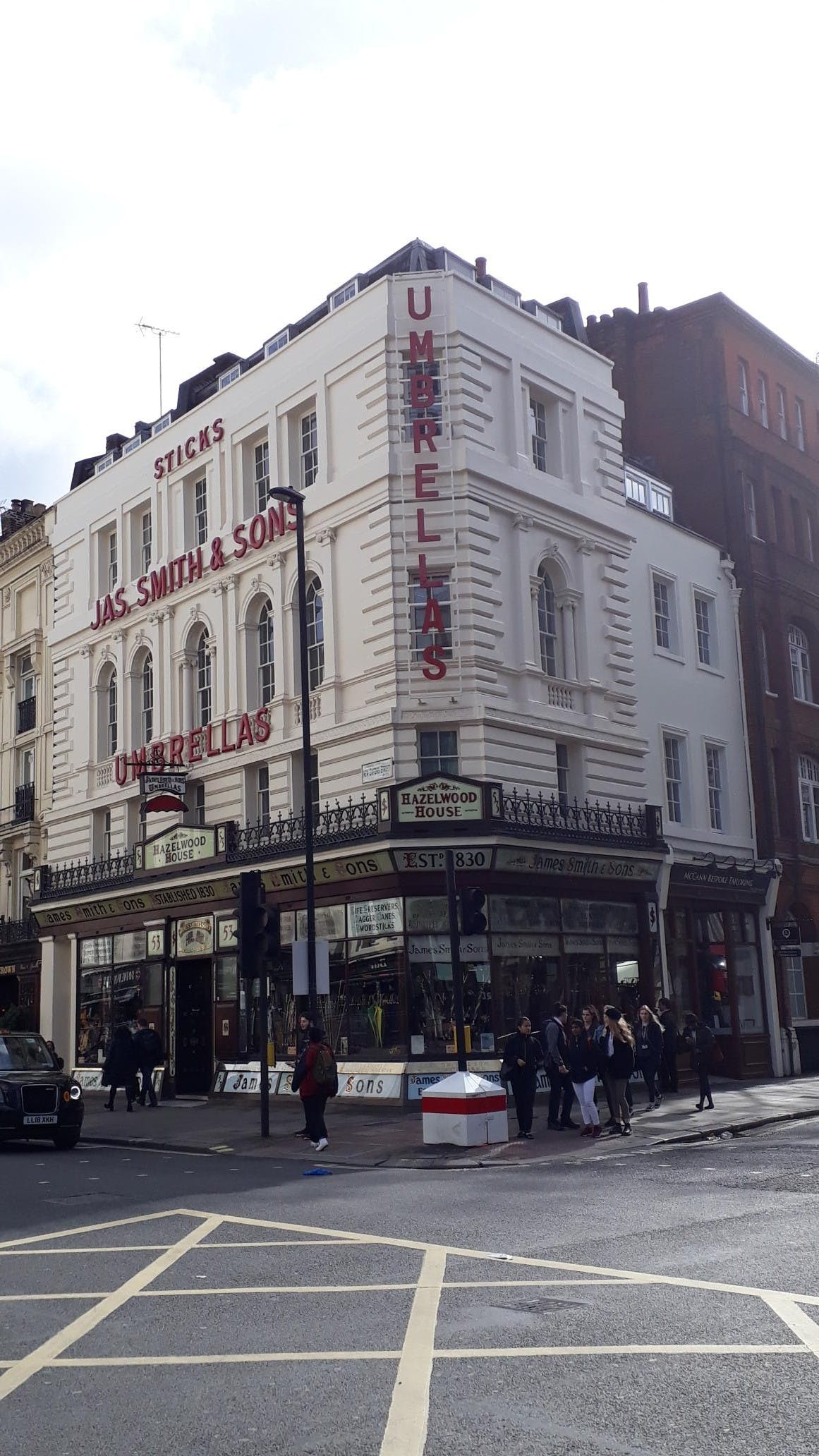 3rd Floor, 53 New Oxford Street, London, Office To Let - 53 New Oxford St ext corner 20190315_101340.jpg