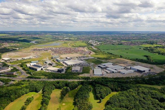 Plot 1 - R-Evolution @ The AMP, Brunel Way, Rotherham, Industrial For Sale - Waverley AMP  Aerial photo 2019.JPG
