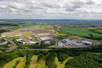 Plot 1 - R-Evolution @ The AMP, Brunel Way, Rotherham, Industrial For Sale - Waverley AMP  Aerial photo 2019.JPG