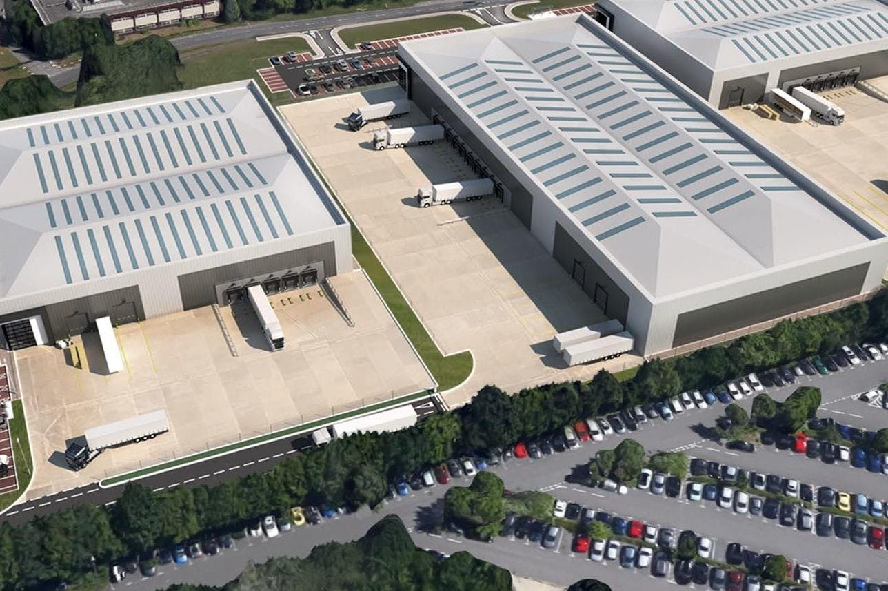 St Modwen Park, Jays Close, Basingstoke, Warehouse & Industrial To Let - AerialView.jpg