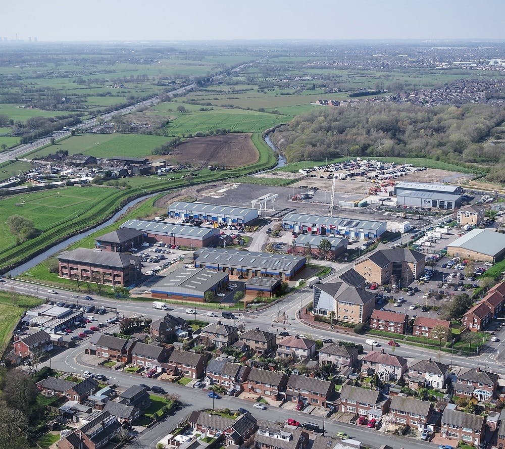 Leigh Commerce Park, Leigh, Industrial To Let - P-HRS003 - Leigh Commerce Park_Bird_eye_Final.jpg