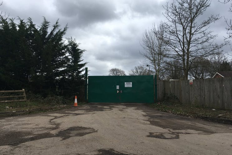 Woodlands Farm, Wokingham, Development, Land For Sale - Open Storage Entrance