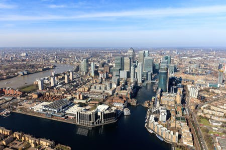 City Reach, 5 Greenwich View Place, London, Office To Let - 18195_Aerial_Photo.jpg
