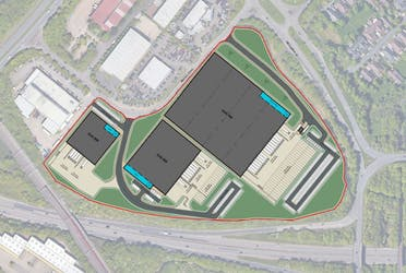 Trammell Crow Milton Keynes, Merton Drive, Milton Keynes, Industrial To Let - Trammell Crow Milton Keynes  3 Unit Site Plan.JPG - More details and enquiries about this property