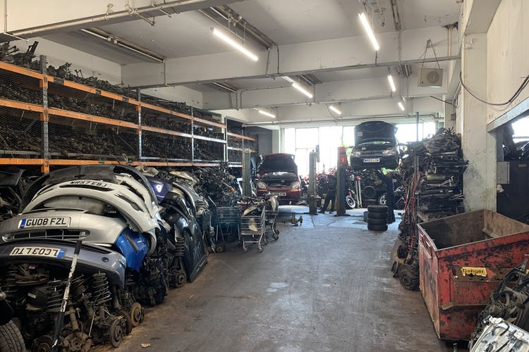 137 Wellington Road, Brighton, Industrial / Retail For Sale - Ground floor rear workshop storage.JPG