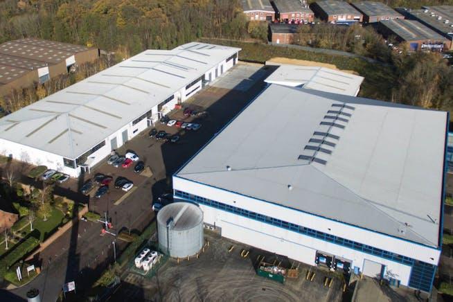 Unit D, Lutyens Industrial Centre, Basingstoke, Warehouse & Industrial To Let - Lutyens Aerial.PNG