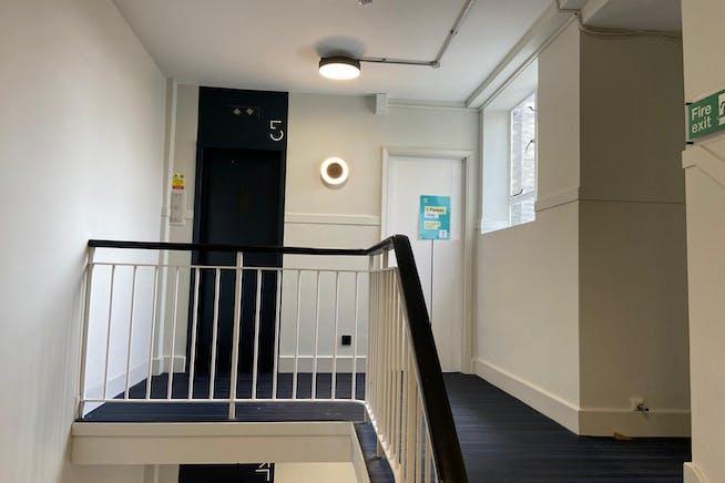 Barratt House, 341-349 Oxford Street, Mayfair, London, Office To Let - 5th floor landing.jpeg