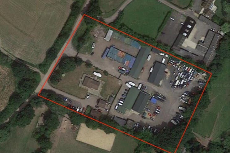 Woodlands Farm, Wokingham, Development, Land For Sale - Aerial Photo of Site