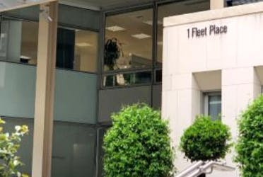 1 Fleet Place, London, Office To Let - Fleet Place Entrance.png - More details and enquiries about this property