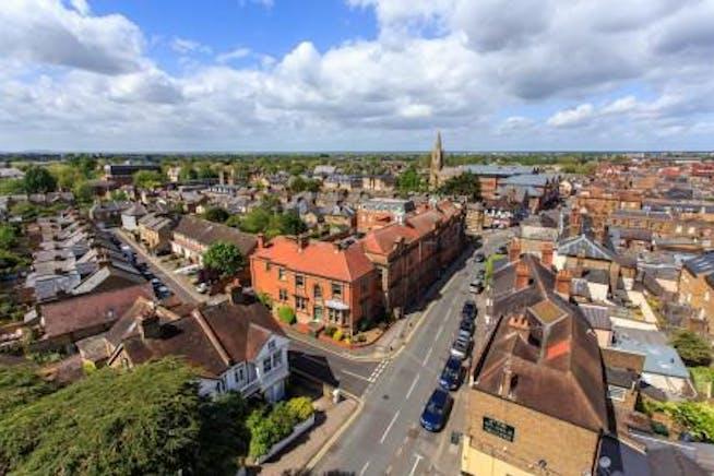 Admiral House, St Leonard's Road, Windsor, Office To Let - Windsor - St Leonards Road - Admiral-House - aerial - new pic.jpg