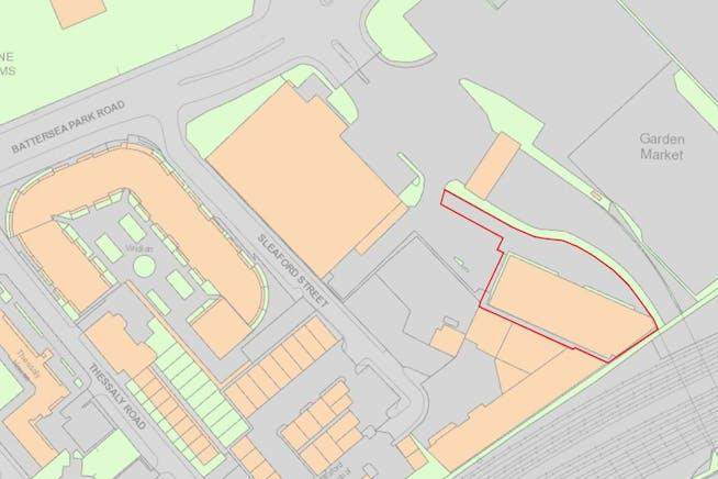 Units 2 & 3, 49-59 Battersea Park Road, Battersea, Industrial To Let - Site Plan.JPG