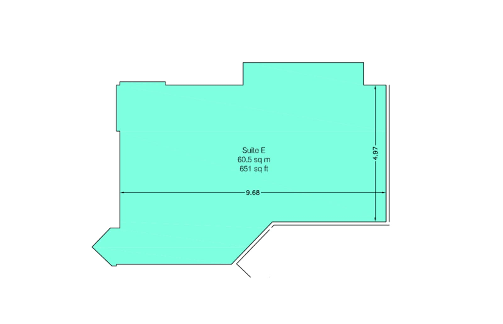Suite E, The Briars, Waterlooville, Office To Let - floorplan.png